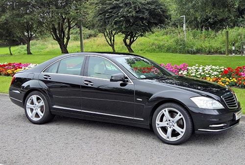 Large Black SClass Mercedes Singletons