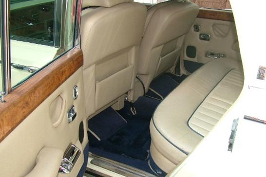 Silver Ghost Rolls Royce interior