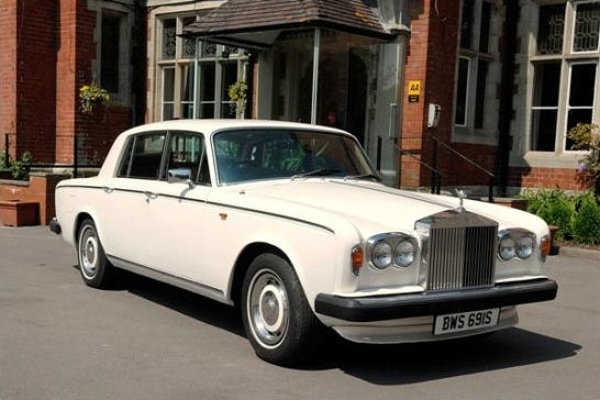 Rolls Royce Silver Ghost Wedding Car